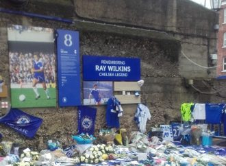Ray tribute at Shed wall