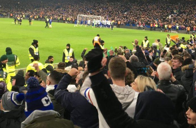 Spurs beaten, City in final
