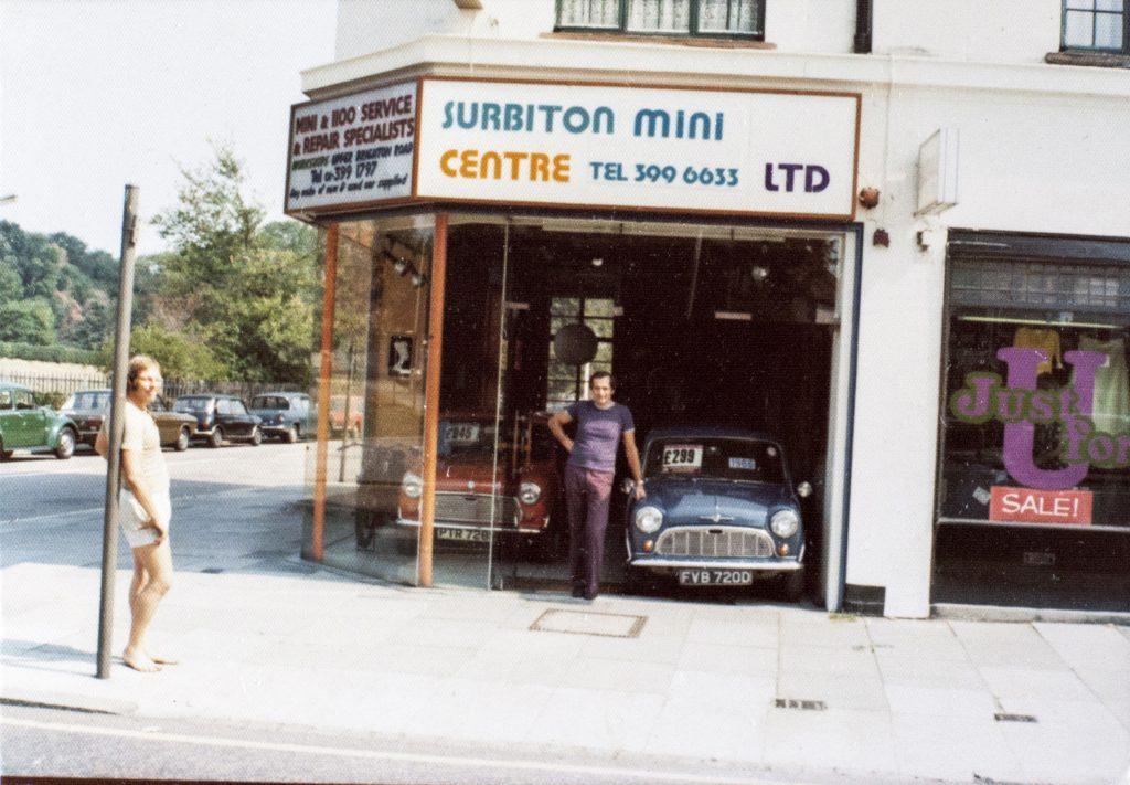 Rodger Florio at the Surbiton Mini Centre in Ewell Road