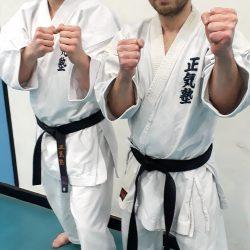 Jack Holdbrook, left, with fellow instuctor Alex Vassallo
