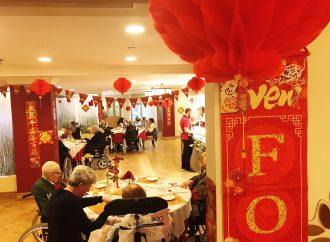 Veterans mark Chinese New Year