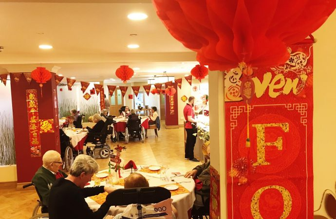Veterans mark Chinese New Year