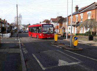 Bus barrier threat