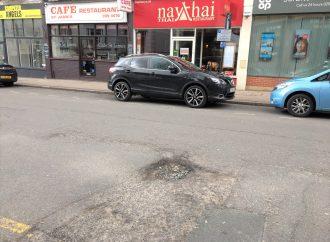 Potholes that echo