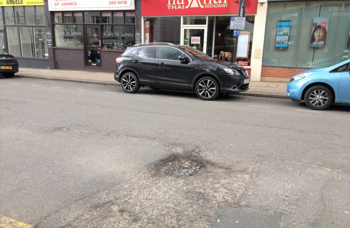 Potholes that echo