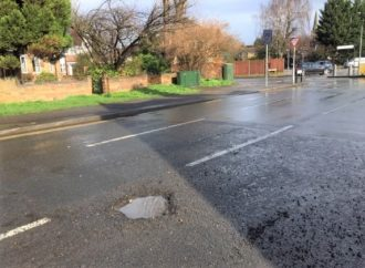 Pothole plague strikes borough