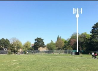 New battle over phone mast in Victoria Recreation Ground