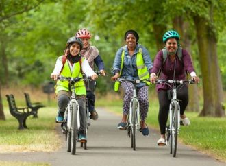 Free cycle training for adults and families at home or in local park