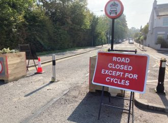 Traffic barrier produces new rat runs around King Charles Road