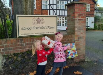 Bring joy – and presents – to care homes this Christmas