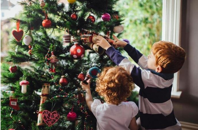Be part of a virtual Christmas Tree Festival and win a rosette!