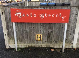 Turn right at Santa Street