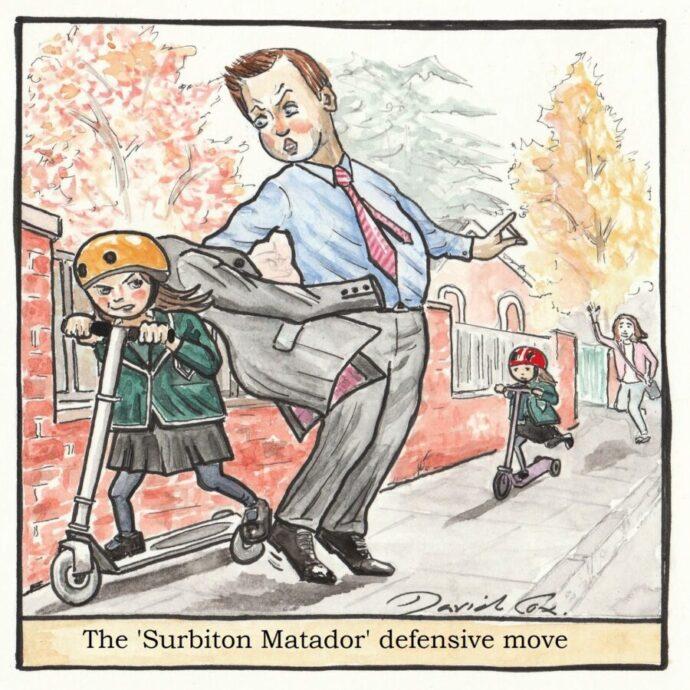 The \'Surbiton Matador\' Good Life edit. (2)