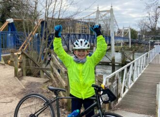 Can you help 10-year-old cyclist reach £1,000 for cancer charity?