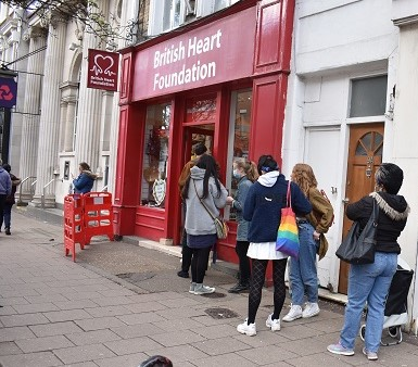 Record-breaking sales as British Heart Foundation opens its doors