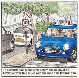 Surbiton Driving School by David Cox