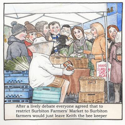 Surbiton Farmer's Market by David Cox