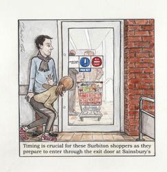 Sainsburys Surbiton by David Cox