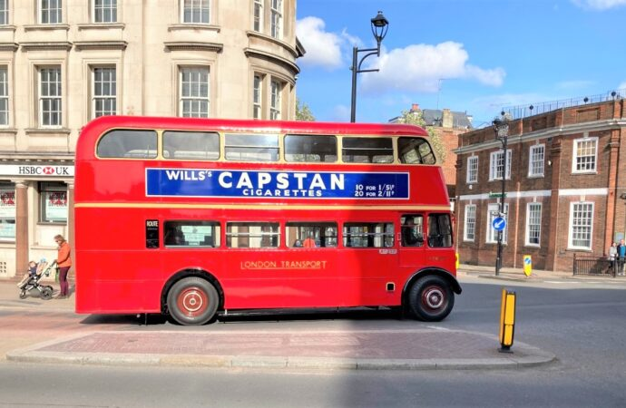 The day that the old buses escaped from the museum