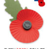 Put up a poppy poster in your front window to honour the fallen