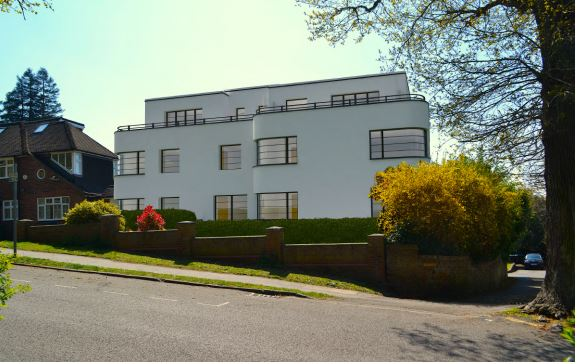Bid to build art deco style flats opposite nature reserve