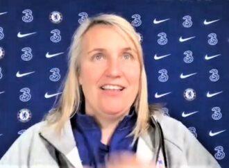 Blues pin Emma down