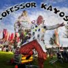 Prof Kayoss and chums fight climate change from a yurt